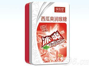 西瓜爽润喉糖(铁盒)