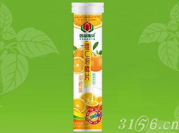 医品植贝牌维C泡腾片(甜橙味)