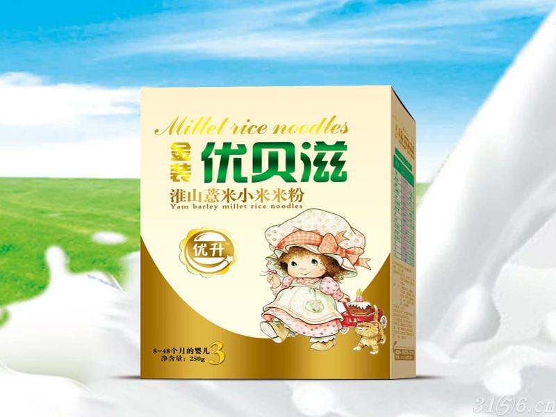 淮山薏米小米米粉盒装
