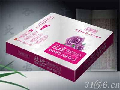 玫瑰精油泡足片