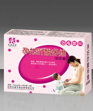 艾康乐源孕妇叶酸多维软胶囊