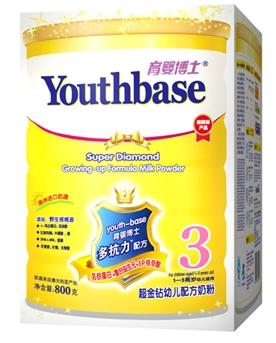 育婴博士超金钻牛奶粉3段(800G)
