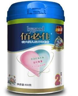 佰必佳较大婴儿配方羊奶粉2段普装