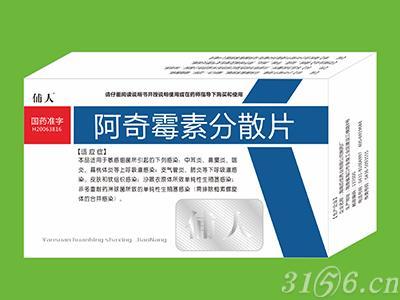 阿奇霉素分散片(广谱消炎药)招商