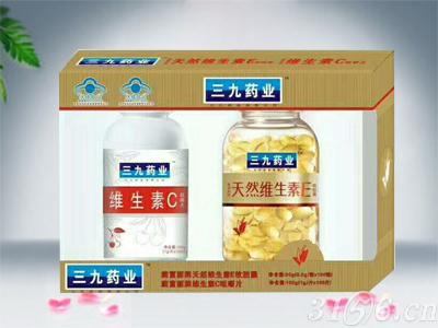 維生素C咀嚼片+維生素E軟膠囊