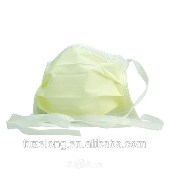绑带三层医用口罩