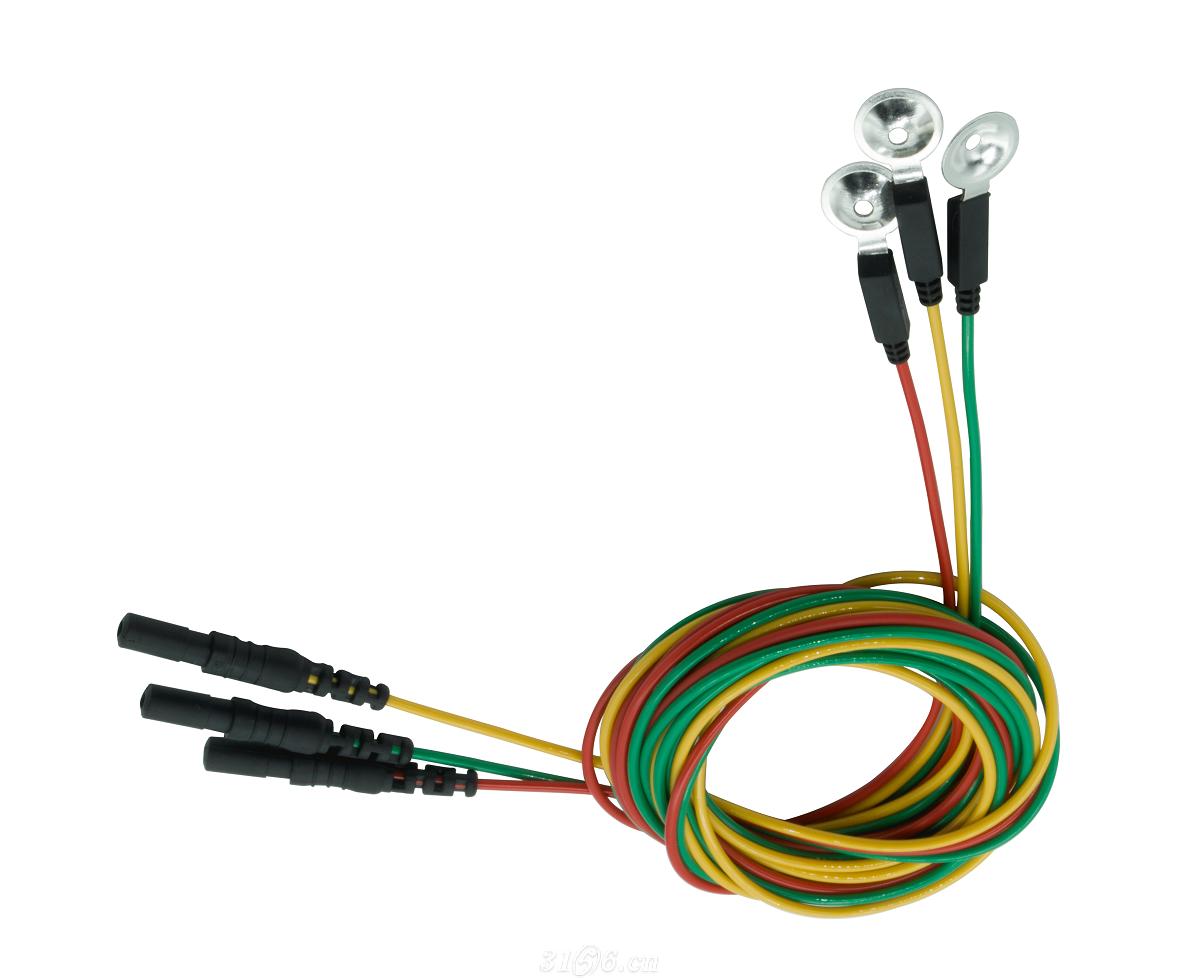 脑电肌电导联线银盘盘状电极招商