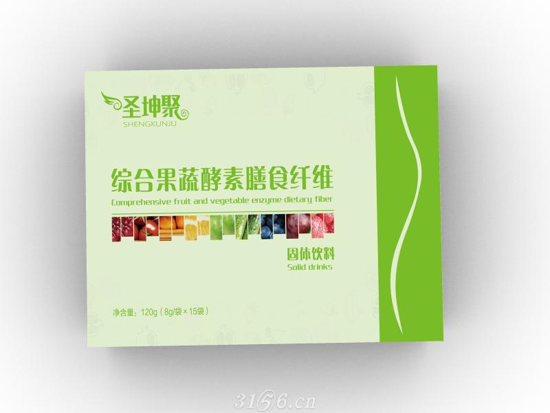 综合果蔬酵素膳食纤维固体饮料