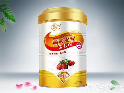 阿膠棗杞蛋白粉