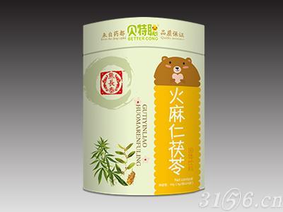 火麻仁茯苓固體飲料