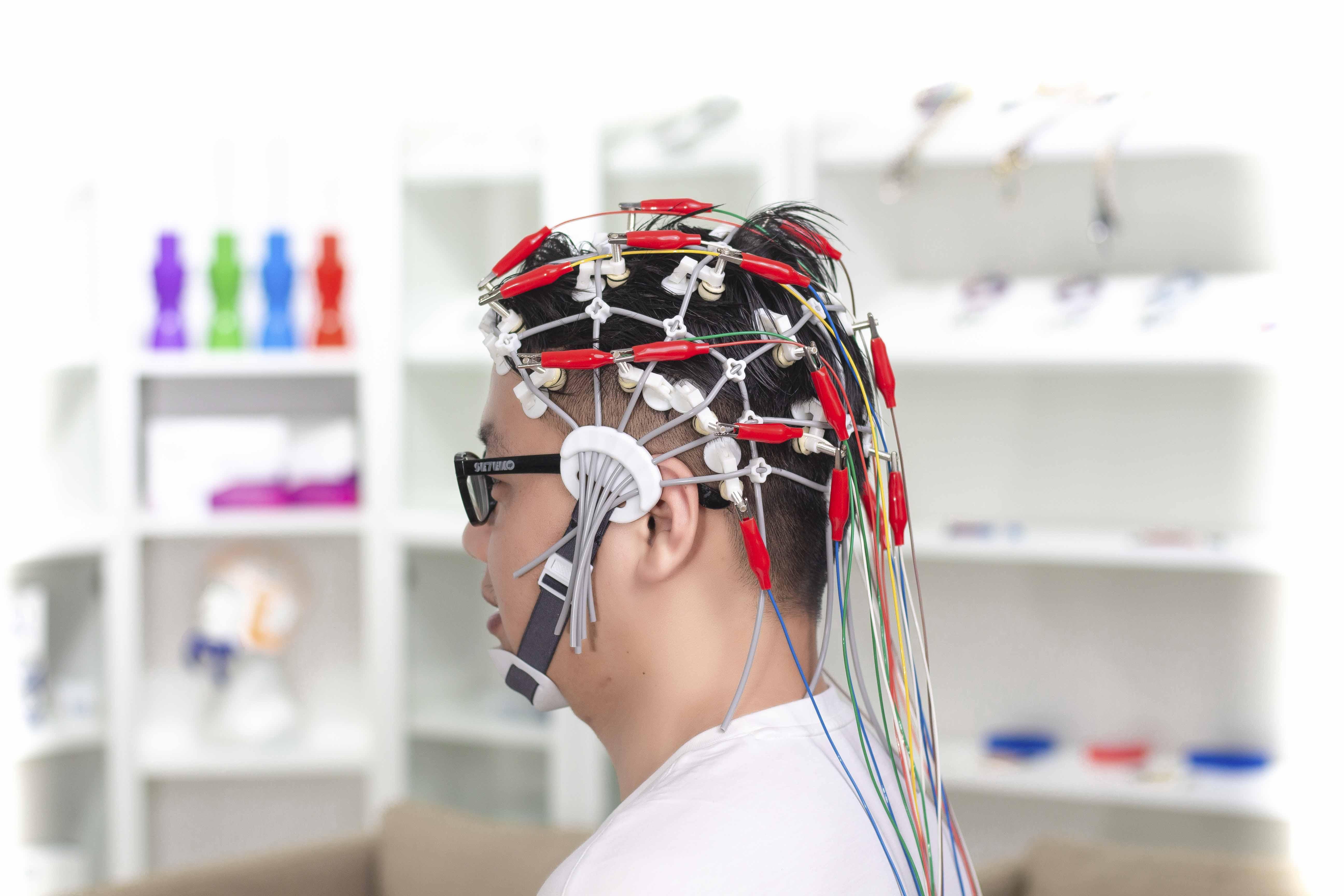 脑电图帽硅胶条脑电帽招商